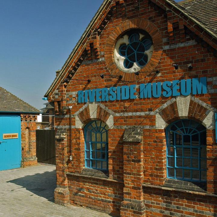 Exterior of the Riverside Museum