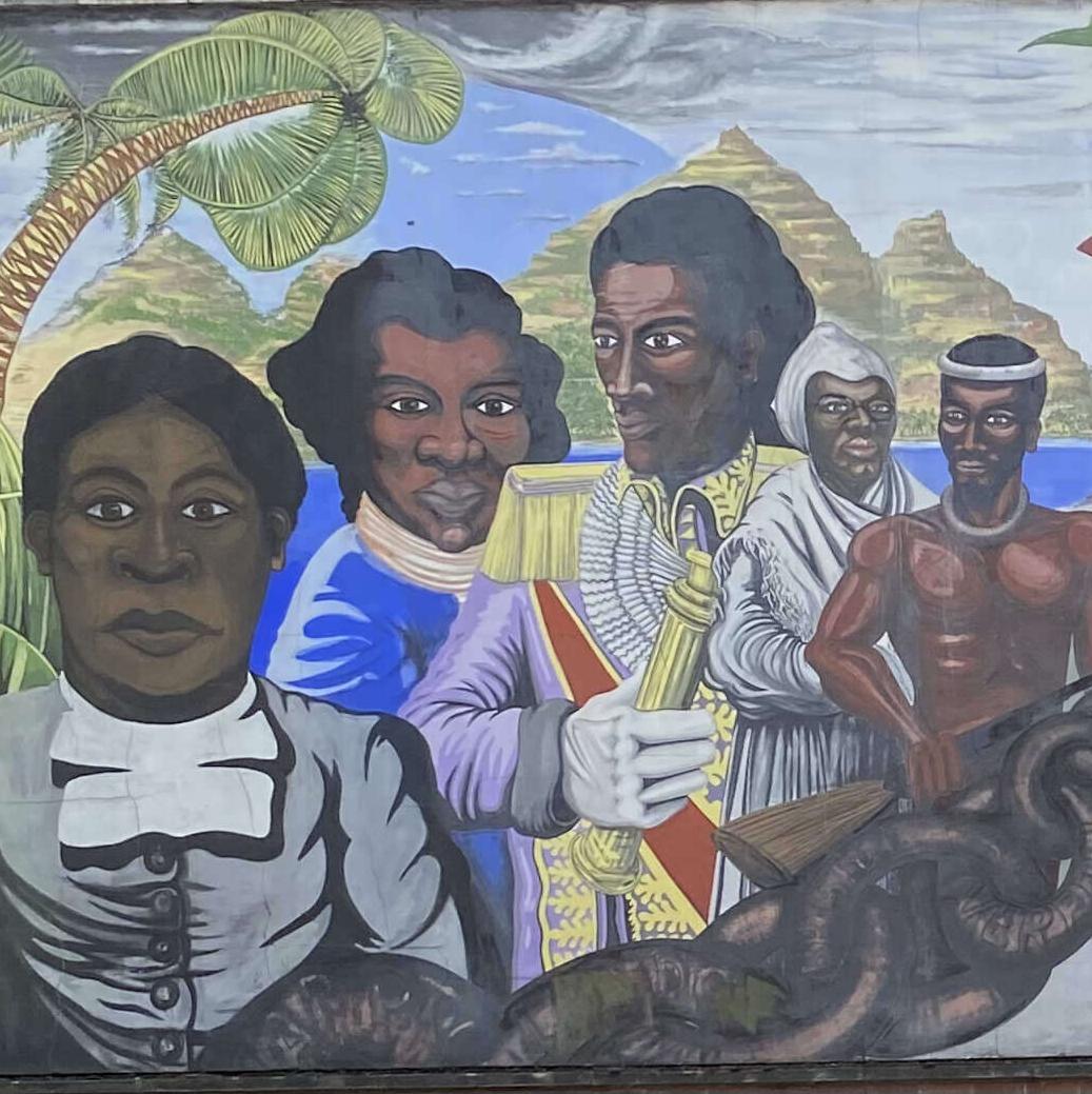 Reading Black History Memorial Mural