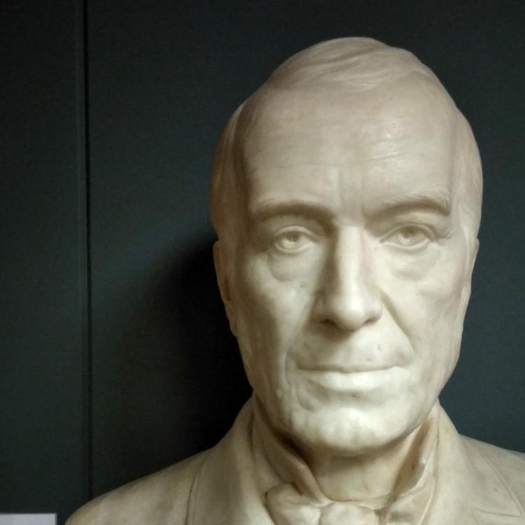 Bust of Dr Joseph Stevens