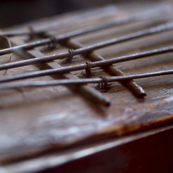 A thumb piano