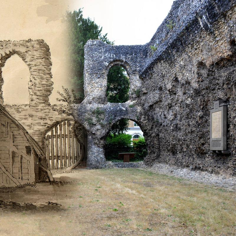 Reading Abbey Quarter: Then and Now