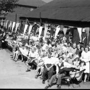 VE Day party at Wantage Road, Reading