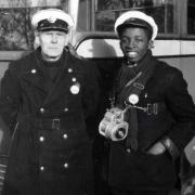 Bus conductors © TfL from the London Transport Museum collection