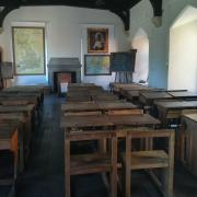 Victorian Schoolroom in the Abbey Gateway Building