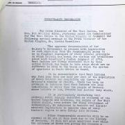 West Indies Government Press Release 1961 (WIFAC Collection)