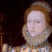 detail of portrait of Queen Elizabeth I